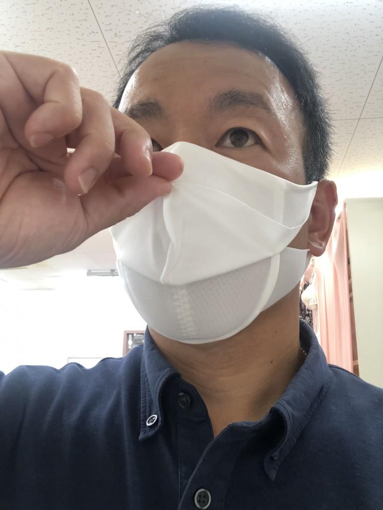 マスク換気状態